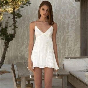 The Jetset Diaries TJD Horizon Dress in Ivory
